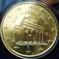 TRES RARE 10 CENT  2010 SANT MARIN BU DU COFFRET - San Marino