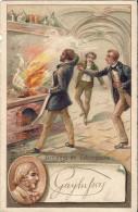 Image / Chromo : Accident De Laborateur GAY LUSSAC Joseph Louis De SAINT LEONARD 87 Haute Vienne - Chromos