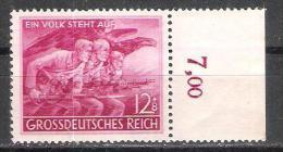 Reich N° 824 Neuf ** - Unused Stamps