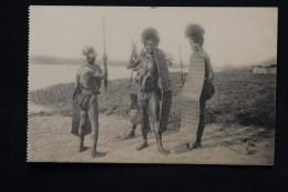 Congo Belge Guerriers Congolais - Belgisch-Congo - Varia