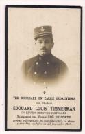 DP Edouard Louis TIMMERMAN - De Corte - Brugge - Postbode  - 1883 / 1925 - Religion & Esotérisme