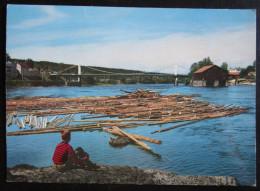 Kongsvinger, Broen Over Glomma, 1966 / Norway / Norwegen - Norvège