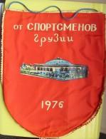 1976 - Georgia / USSR / - By Athletes Of Georgia / Sunny Georgia - Wimpel / Pennant / Fanion - Sports