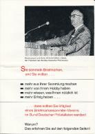 Postkarte CP Fleyer: Bund Deutscher Philtelisten EV FFM, Ungebraucht - Siehe Scan - *) - Literatur