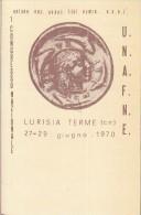 STORIA POSTALE CARTOLINA LURISIA TERME 27/29 1970-1 CONGRESSO NAZIONALE-2 SCAN - Italia