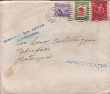 1951-H-3 CUBA. REPUBLICA. 1951. NAVIDAD. CHRISTMAS. SOBRE MARCA: MARCHO SIN DEJAR DIRECCION Y PREGONADO. RARE POSTMARK. - Cuba