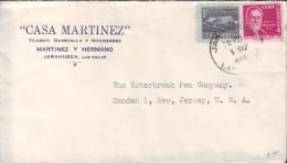 1954-H-23 CUBA. REPUBLICA. 1954. RETIRO DE COMUNICACIONES. SOBRE MARCA JARAHUECA. VILLA CLARA. 1955. RARA OFICINA POSTAL - Cuba