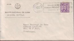 1966-H-1 CUBA. 1966. SOBRE MARCA: SALUDAMOS TORNEO PANAMERICANO DE AJEDREZ. HABANA. FORGERY. MARCA FALSA. - Cartas