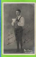 De Creus second t�nor in �Le Chalet� 1909-1910 Th�atre Royal d�Anvers Autographe