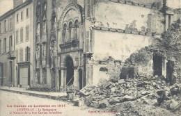 LORRAINE - 54 - MEURTHE ET MOSELLE - LUNEVILLE - Guerre 14-18 - Synagogue Incendiée Rue Castara - Luneville