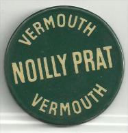 """Miroir De Poche Ancien Publicitaire 5cm (diam)  Vermouth """"NOILLY PRAT"""" - Advertising"""