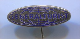 GENERALTURIST - Croatia, tourist offices, enamel, vintage pin, badge