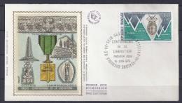 FDC Journée Du Timbre 1974 - Enveloppe - 15 JUIN 1974 - FDC