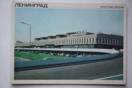 RUSSIA. LENINGRAD - ST.PETERBURG. PULKOVO International Airport - . 1980 - Aerodrome