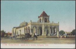 POS-22 CUBA. CIRCA 1920. TARJETA POSTAL. POSTCARD. CAMAGUEY. LA CARIDAD CHURCH. IGLESIA DE LA CARIDAD. UNUSED - Cuba