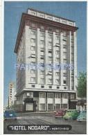 1742 URUGUAY MONTEVIDEO HOTEL NOGARO PUBLICITY POSTAL POSTCARD - Uruguay