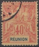 Colonie Française, N° 41 , Faux De Fournier, Réunion  (F11) - Réunion (1852-1975)