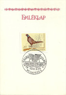 1107 Hungary SPM Fauna Bird World Food Day Wheatear Memorial List - Agriculture