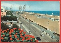 CARTOLINA VG ITALIA - RIMINI - La Grande Spiaggia - 10 X 15 - ANNULLO 1958 - Rimini