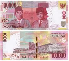 Indonesia 100000 Rupiah P-new  2014 UNC - Indonesië