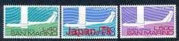 SAN MARINO Mi.Nr.  1077-1079  Segelflug-Sport In Italien  -MNH - Ungebraucht