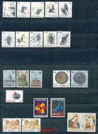 SAN MARINO Mi.Nr.  1105-1126 Jahrgang 1976 Siehe Scan  -MNH - Ungebraucht