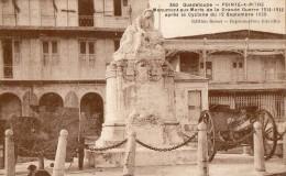 GV31 GUADELOUPE POINTE A PITRE  MONUMENT AUX MORTS DE LA GUERRE 1914 1918 - Guadeloupe