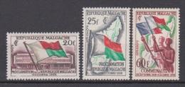 Madagascar, Malgache, Malagasy, 1959, Proclamation Of Republic, Flag, MNH, *** - Postzegels