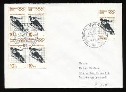 GERMANY Mi. Nr.  680   Olympische Spiele 1972 - Siehe Scan - FDC - BRD