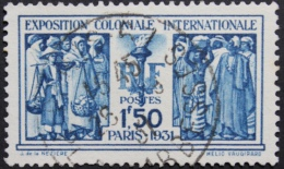 Frankrijk, Internationale Koloniale Tentoonstelling, Parijs, Fakkel En Volkeren Soorten Franse Koloniën - Frankrijk