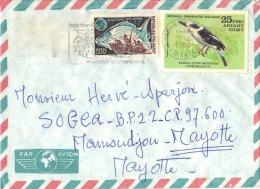 LOT 868 MADAGASCAR PLI TANANARIVE MAYOTTE OISEAU PIROGUE POISSON SCOUTISME