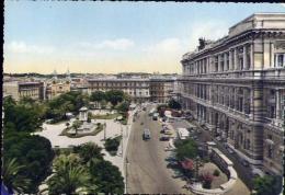 Roma - Piazza Cavour E Palazzo Di Giustizia - Formato Grande Viaggiata Mancante Di Affrancatura - Places & Squares