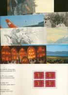 Schweiz 8 Weihnachtsgrüße Der PTT Aus 1982/91 (XL5474) - Stamps