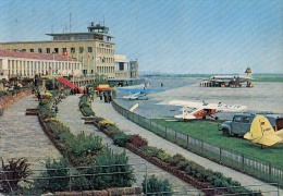 AK FLUGWESEN AERODROME FLUGHAFEN AIRPORT STUTTGART   ALTE POSTKARTE - Aérodromes
