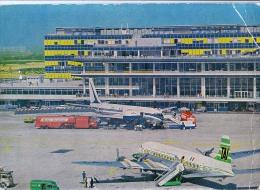 AK FLUGWESEN AERODROME FLUGHAFEN AIRPORT PARIS - ORLY   ALTE POSTKARTE 1962 - Aerodrome