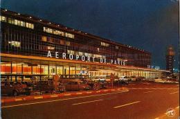 AK FLUGWESEN AERODROME FLUGHAFEN AIRPORT PARIS - ORLY  SUD  ALTE POSTKARTE 1982 - Aerodrome