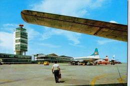 AK FLUGWESEN AERODROME FLUGHAFEN AIRPORT BEOGRAD  EX YUGOSLAVIA  ALTE POSTKARTE 1975 - Aérodromes