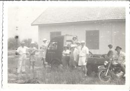 GROUPE   MOTO CAMION  ANNEE 1930 - Personas Anónimos