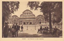 France Vichy Le Casino Vu Des Jardins - Vichy