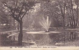 France Vichy Dans Les Nouveaux Parcs Bassin Des Cigignes 1926 - Vichy