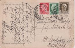 E14 Italia Italien Italie 1933 Cartolina Postale Trarego Cannero Landsberg - 1900-44 Victor Emmanuel III