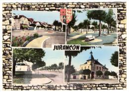 JURANCON - 64 - B�arn - La Place et le Boulevard de la Mairie