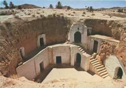 CPM - MATMATA - Habitation Troglodythe - Tunisie