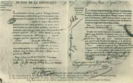 Facsimilé Des Actes Authentiques - Histoire