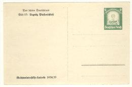 Deutsches Reich Ganzsache P 254 ungebraucht / Bildseite gehangen