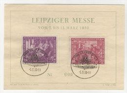 DDR Michel No. 248 - 249 auf Karte FDC