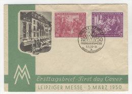 DDR Michel No. 248 - 249 FDC