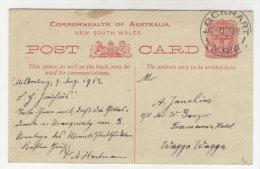 South Wales Ganzsache gebraucht 1912