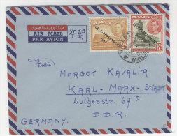 Malta Michel No. 207 , 228 auf Brief
