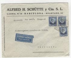 Spanien Michel No. 644 A auf Brief MeF